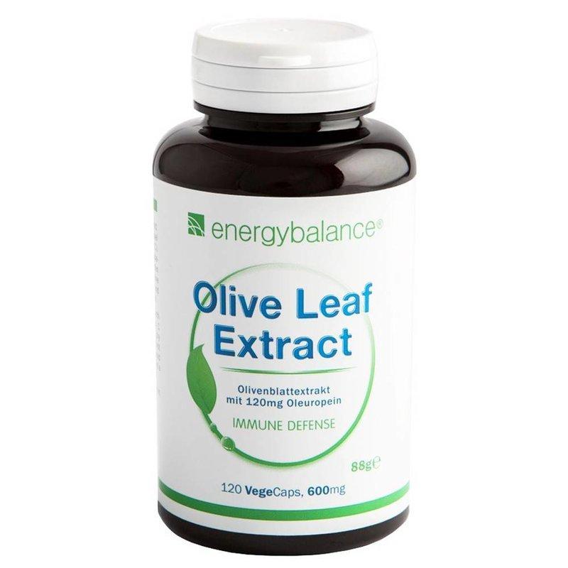 EnergyBalance Organic Olive Leaf 20% Oleuropein  600mg