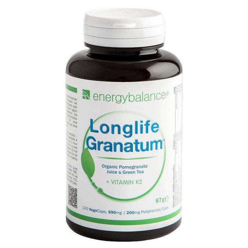 EnergyBalance Bio-Granatapfelextrakt + K2