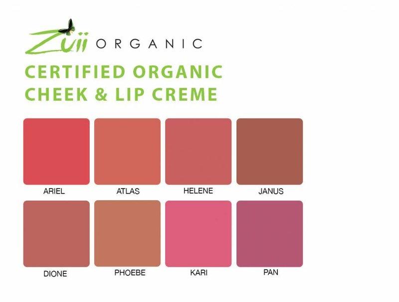 Zuii Organic Rouge Lippe & Wange Cari