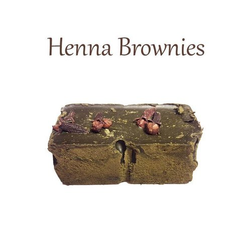 Henna Brownies Haarfarbe Lila