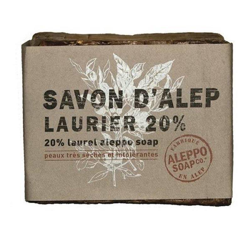 Natürliche Aleppo-Seife 20% Lorbeerblatt