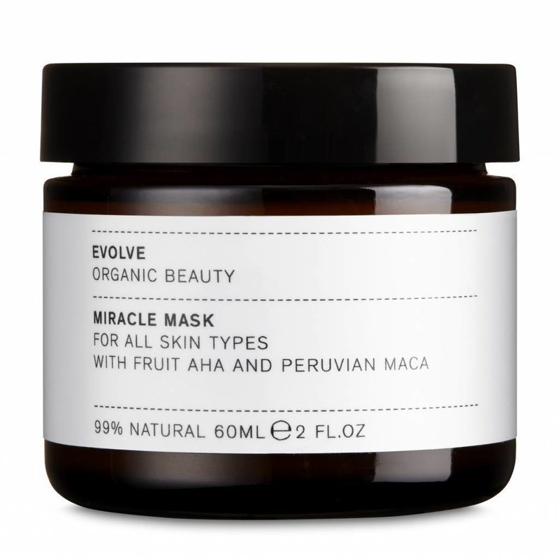 Evolve Beauty AHA Miracle Facial Mask