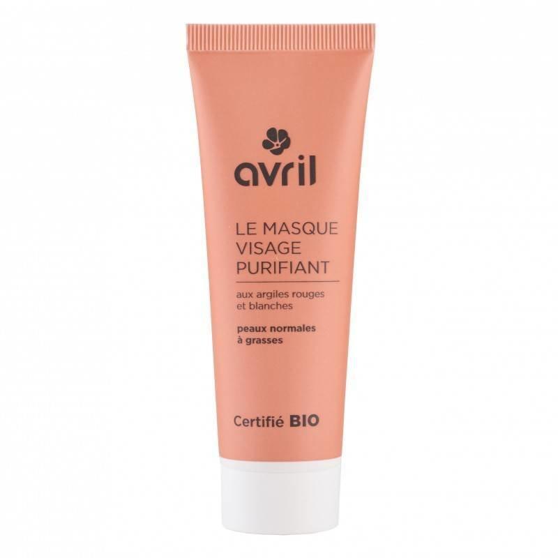 Avril Purifying Organic Face Mask