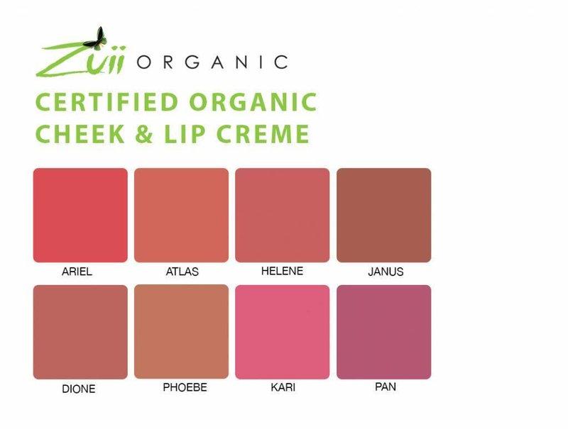 Zuii Organic Rouge Lippe & Wange Atlas