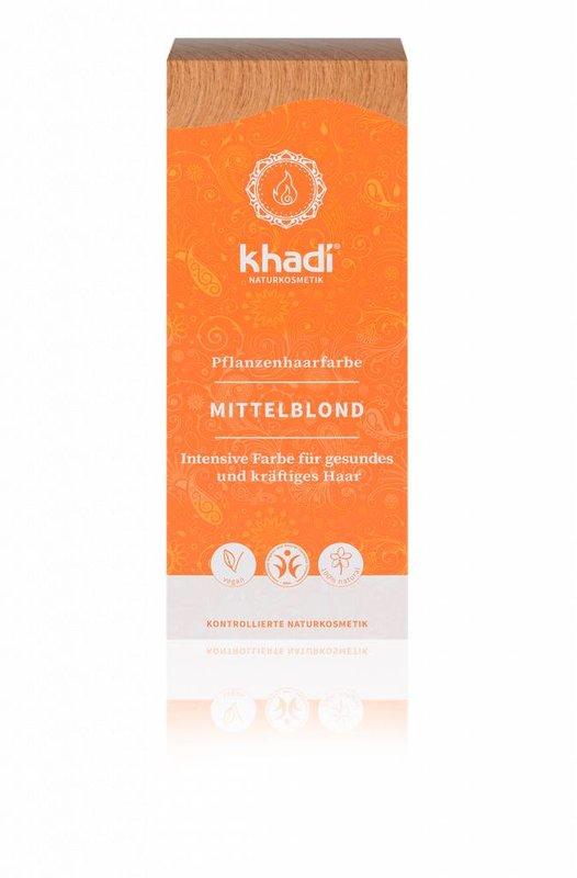 Khadi Natürliche Henna Haarfarbe Mittelblond