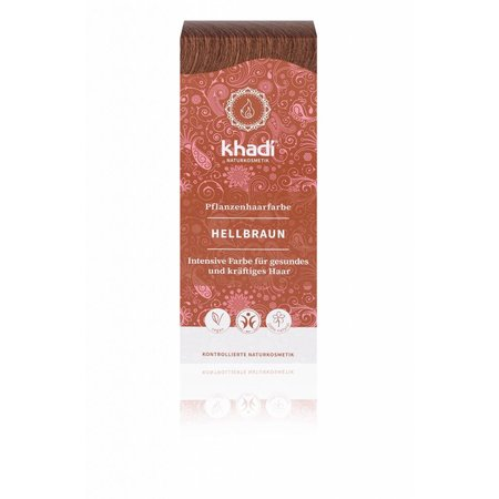 Khadi Henna Hair Dye Light Brown