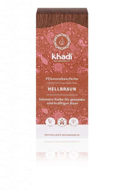 Khadi Natural Henna Hair Dye Light Brown