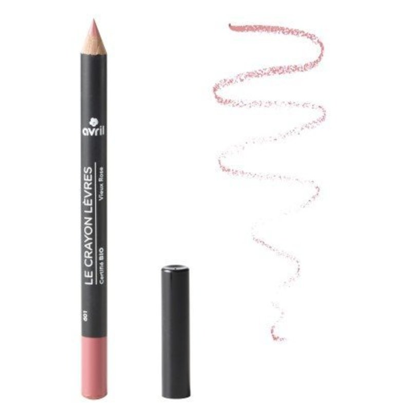Avril Organic Lip Pencil Vieuv Rose