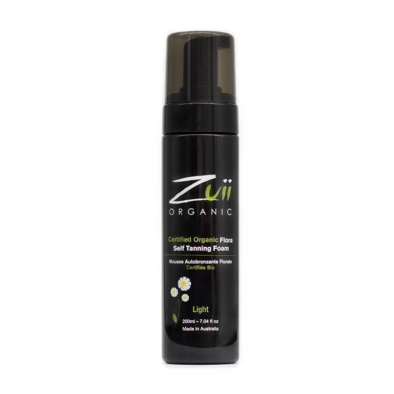 Zuii Organic Natural Self Tanning Foam Light