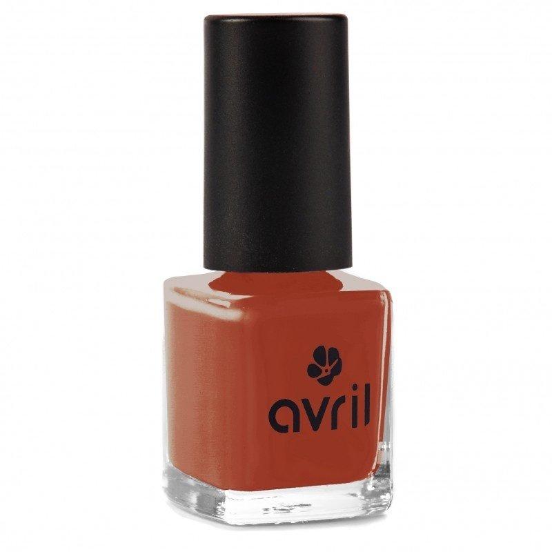 Avril Natural Nail Polish Rouge Brique