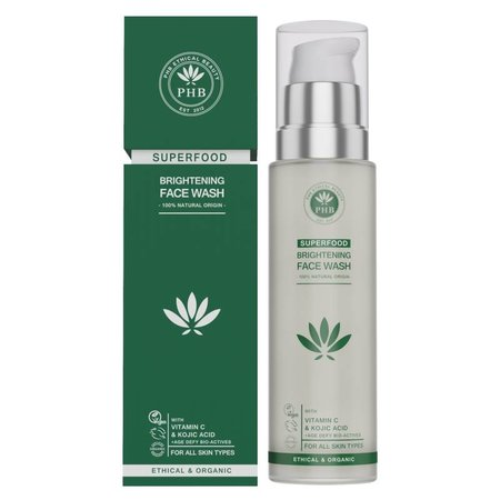 PHB Ethical Beauty Superfood Brightening Facial Wash