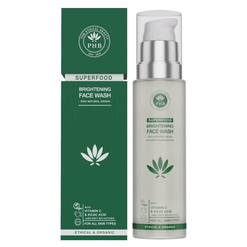 PHB Ethical Beauty Natural Superfood Brightening Facial Wash