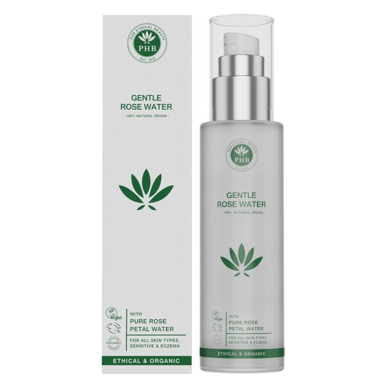 PHB Ethical Beauty Natural Gentle Roses Facial water