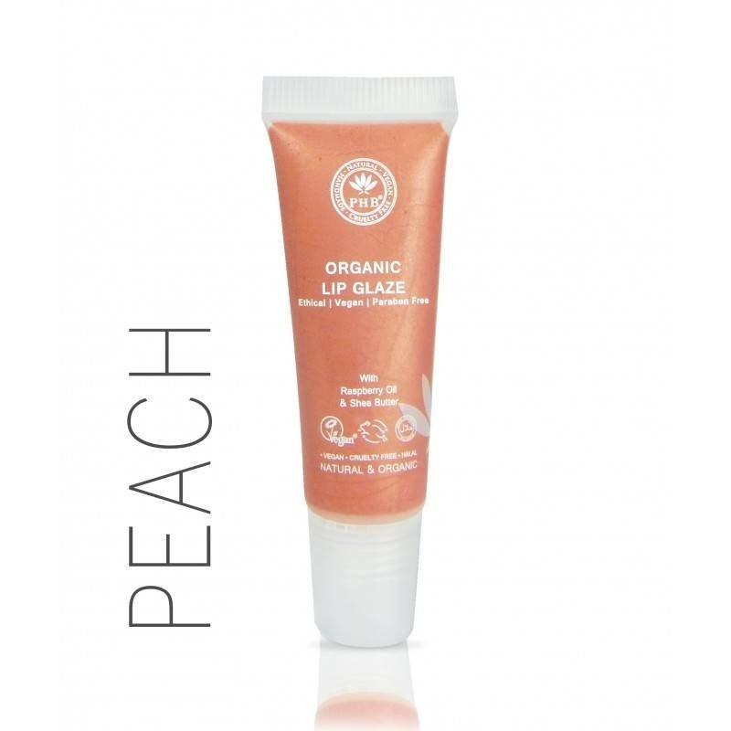 PHB Ethical Beauty Organic  Lip Glaze Peach