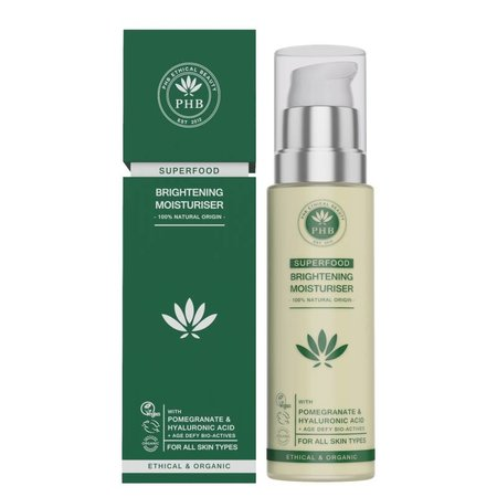 PHB Ethical Beauty Superfood-Aufhellungs-Gesichtscreme