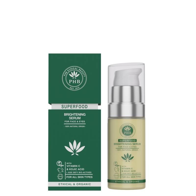 PHB Ethical Beauty Natural Superfood Brightening Serum