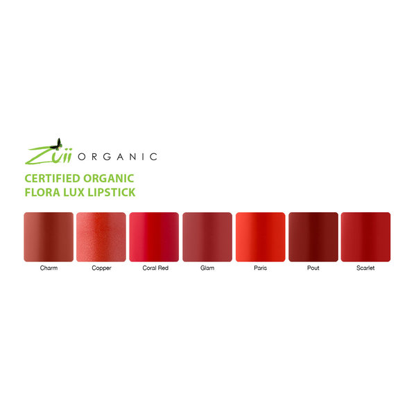 LUX Lipstick Coral Red