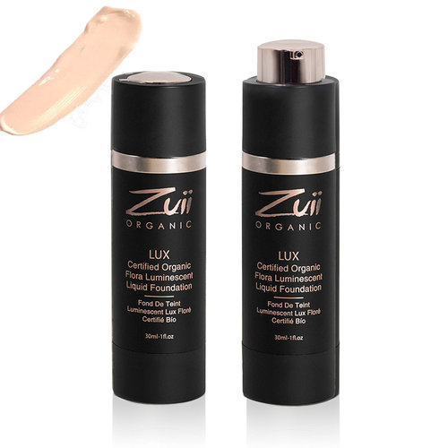 Zuii Organic LUX Luminescent Liquid Foundation Ivory