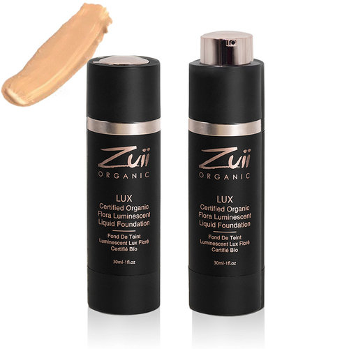 Zuii Organic LUX Luminescent Liquid Foundation Driftwood