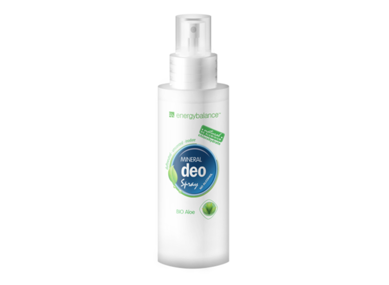 EnergyBalance Organic Deodorant Spray Aloe