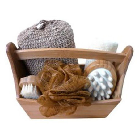 Croll & Denecke Wellness set in Bamboo Basket
