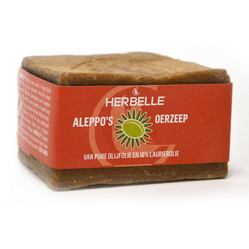 Aleppo's Urseife Olivenöl & 16% Laulier