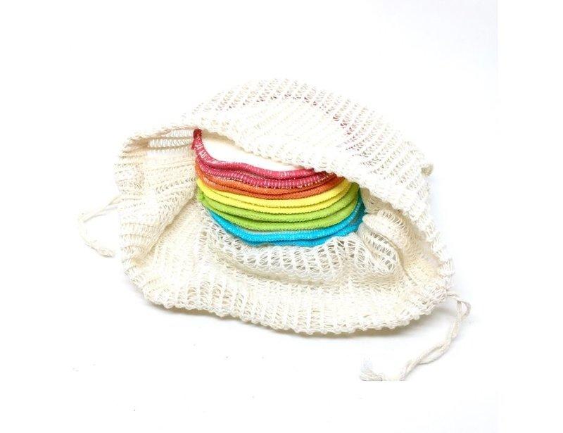 Anaé Waschbare Make-up-Pads aus Bio-Baumwolle