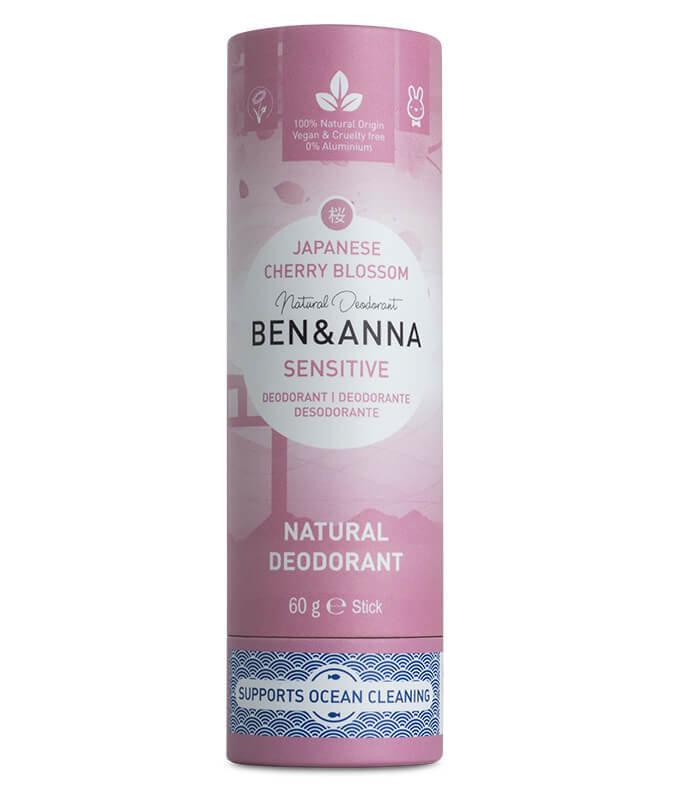 Ben & Anna Sensitive Eco Deo Stick Japanische Kirschblüte