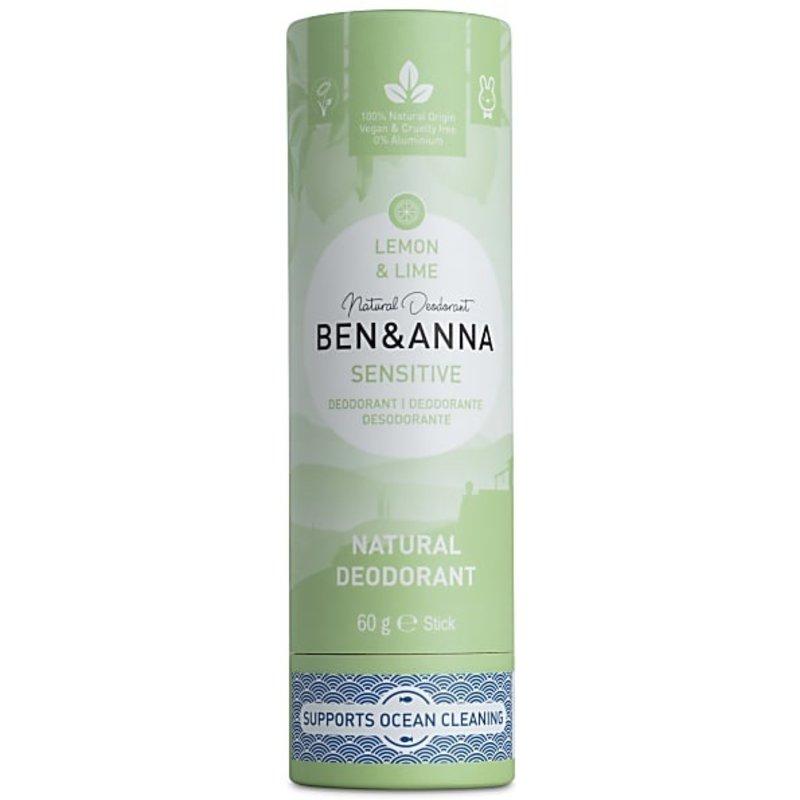 Ben & Anna  Eco Deo Stick Sensitive Lemon & Lime