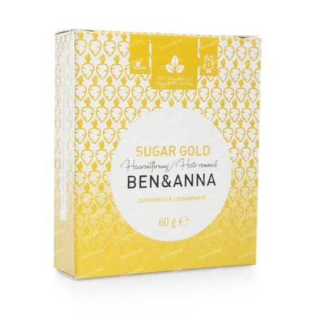 Ben & Anna Sugar Gold Depilatory paste