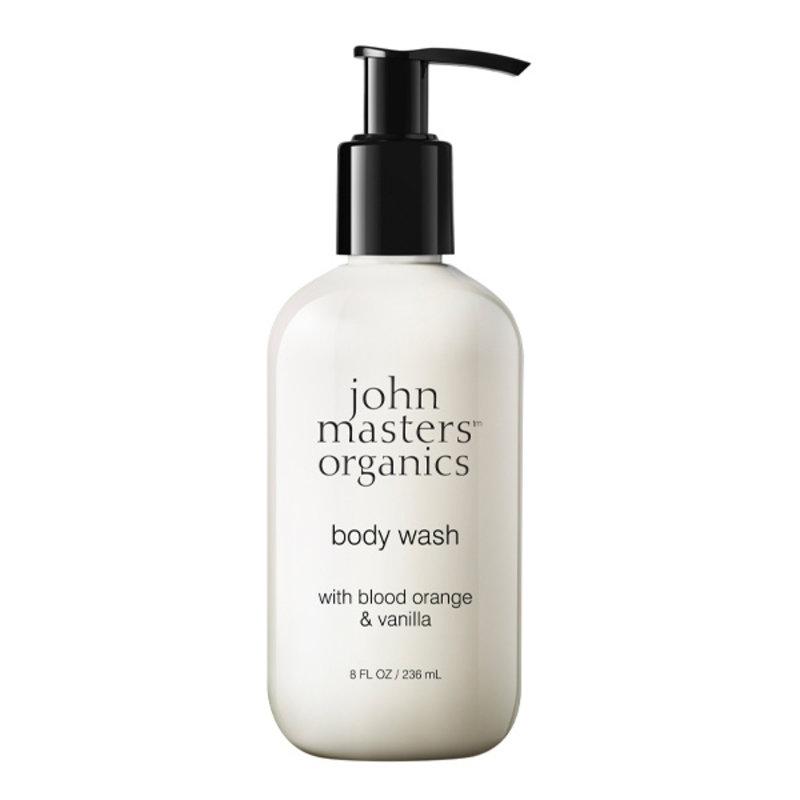 John Masters Organics Natural Body Wash Blood Orange & Bourbon Vanilla