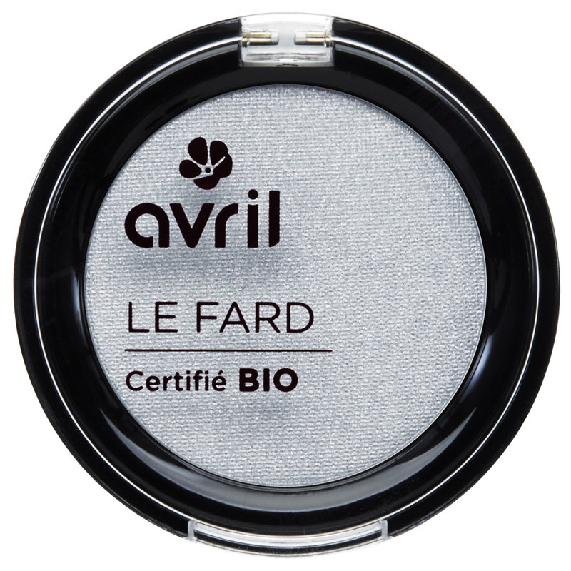 Avril Organic Eye Shadow Gris Perle Irisé