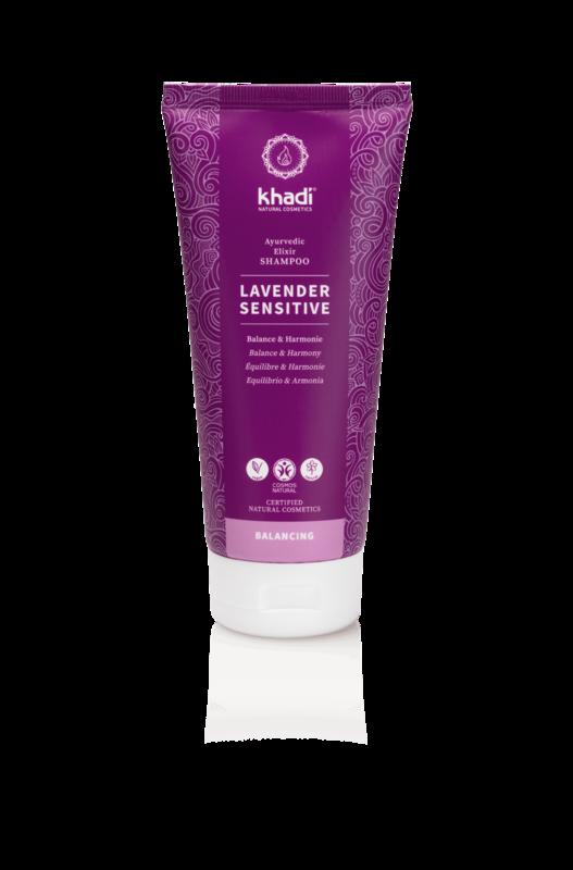 Khadi Natur-Shampoo für empfindliche Kopfhaut
