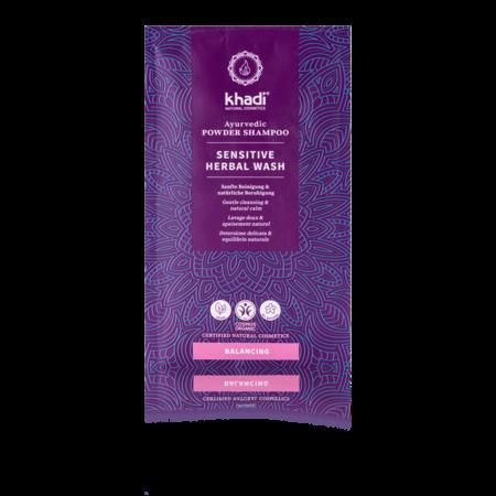 Khadi Kräuter-Shampoo-Pulver Sensitive