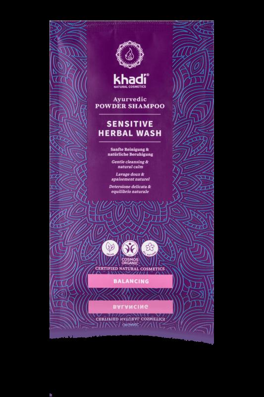 Khadi Herbal Shampoo Powder Sensitive