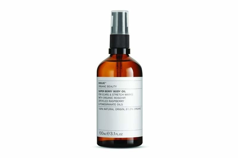 Evolve Beauty Natural Super Berry Body oil