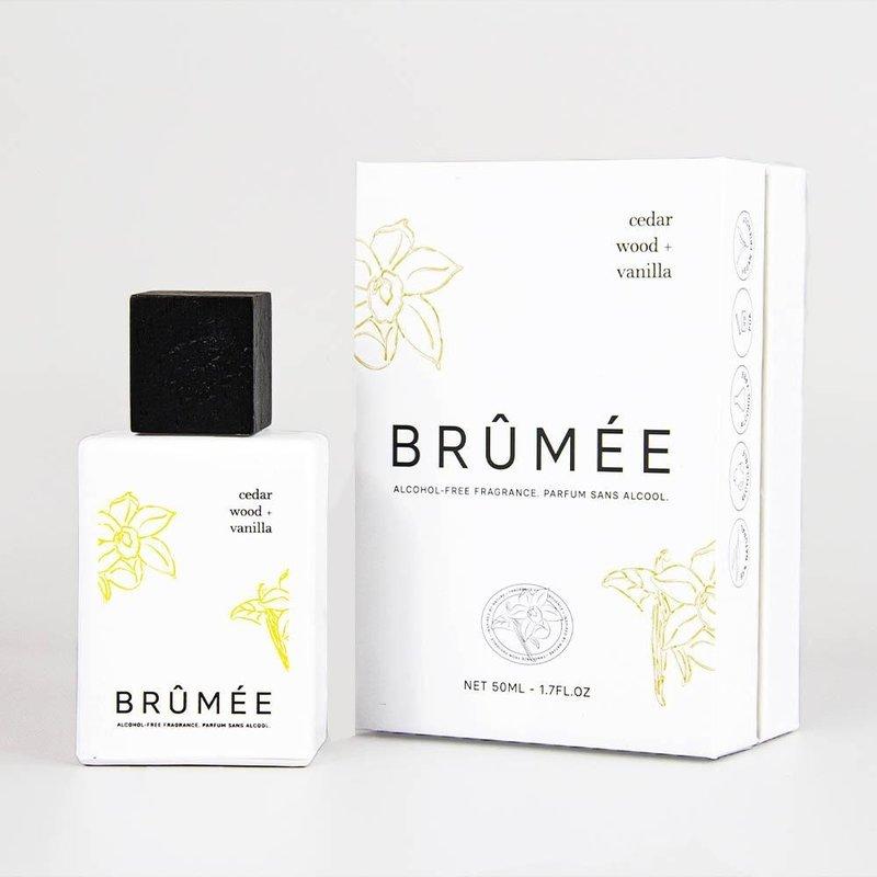 Brûmée Perfume Cedar Wood + Vanilla