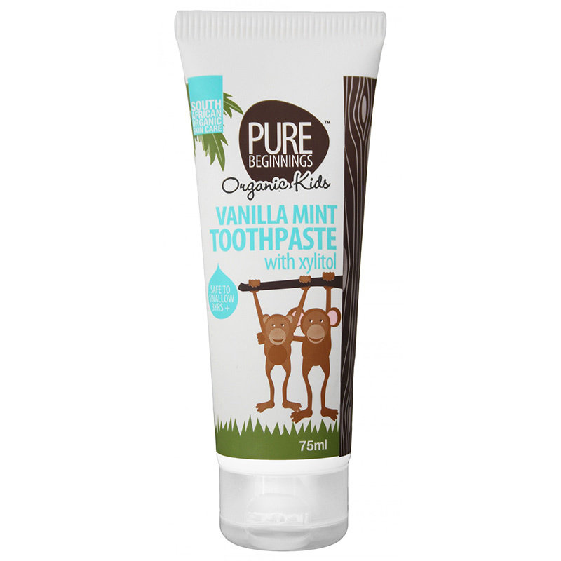Pure Beginnings Children's toothpaste without fluoride Vanilla Mint