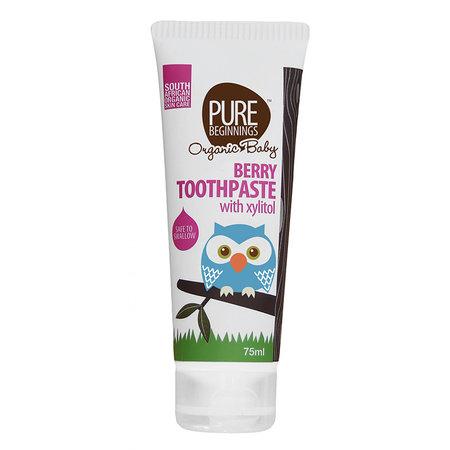 Pure Beginnings Children's toothpaste Berry