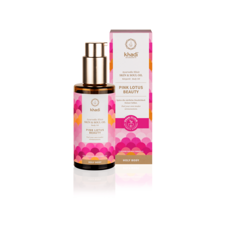 Khadi Pink Lotus Beauty Skin oil