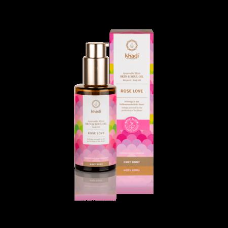 Khadi Rose Love Skin oil