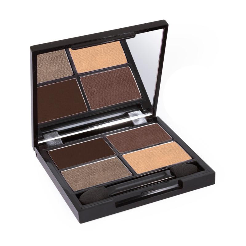 Zuii Organic Quad Eyeshadow Palette Natural