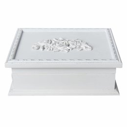 Clayre & Eef Jewellery box 24*18*8 cm