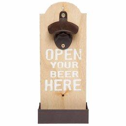 Clayre & Eef Bottle opener 11*5*25 cm