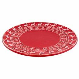 Clayre & Eef Plate Ø 25*2 cm