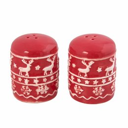 Clayre & Eef Salt and pepper Ø 5*7 cm