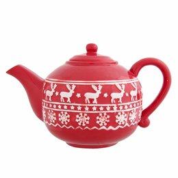 Clayre & Eef Teapot 24*13*15 cm / 1.1L