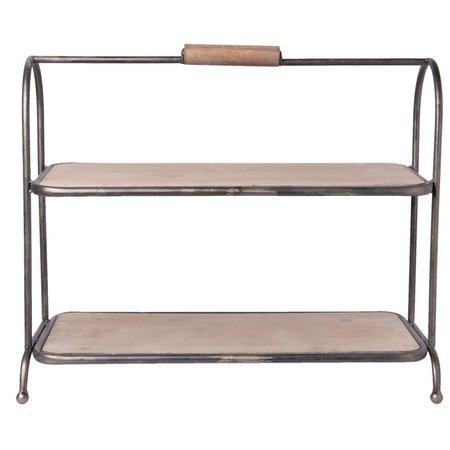 Clayre & Eef Rack 57*26*48 cm