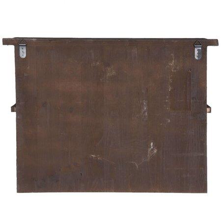 Clayre & Eef Wall rack 70*19*52 cm