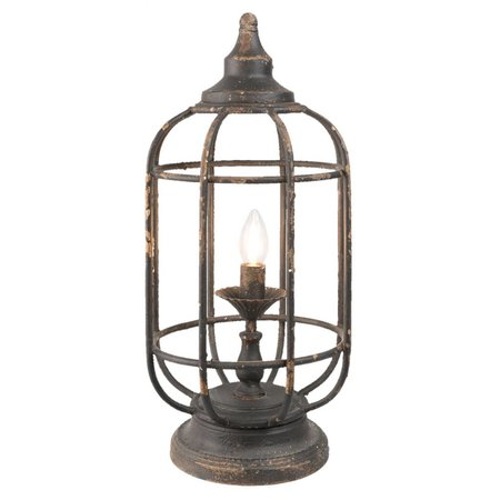 Clayre & Eef Table lamp Ø 25*55 cm / E14 / Max. 1x25Watt